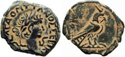 Ancient Coins - EGYPT, Alexandria. Domitian. 81-96 AD. Extremely rare , no online example .