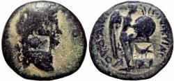 Ancient Coins - SAMARIA, Caesarea. Titus. AD 79-81. 10th Legion coinage.