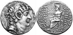 Ancient Coins - SELEUKID KINGS of SYRIA. Philip I Philadelphos. Circa 95/4-76/5 BC. , Antioch mint.