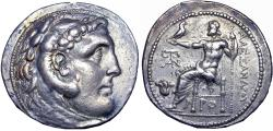 Ancient Coins - Kingdom of Macedon. Alexander III 'the Great' .Rhodes, circa 205-190 BC. EXTREMELY RARE.