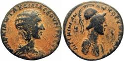Ancient Coins -  CILICIA, Aegeae. Otacilia Severa, wife of Philip I. Augusta, 244-249 AD. Of highest RARITY !!!