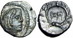 Ancient Coins - NABATAEA. Syllaios and Aretas IV. Circa 9-6 BC.