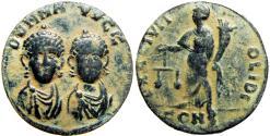 Ancient Coins - Honorius & Theodosius II. AD 408-423. Æ Exagium Solidi Weight