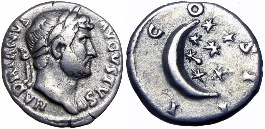 Ancient Coins - HADRIAN. 117-138 AD.