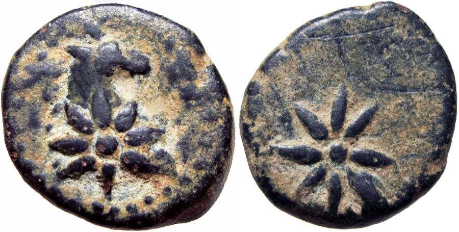 Ancient Coins - PONTOS, Uncertain. Circa 130-100 BC. Very rare and exceptional for issue.