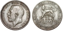 World Coins - Great Britain. George V. AR Shilling 1912. Very Fine