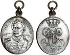 World Coins - Geramny. Prussia. ORIGINAL WWI ERA MIlitary Award Medal for bravery of MAJOR V. LUTZOW 1813-1913. Choice XF