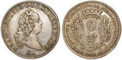 World Coins - Germany. City of Augsburg. Francis I (1745-1765). Silver City Issue Thaler 1765 IT/FN. Choice VF