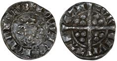 World Coins - Great Britain. PLANTAGENET. Edward I. 1272-1307. AR Penny ND. Fine+