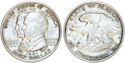 Us Coins - USA. Silver Commemorative 50 Cents: ALABAMA 1921. Choice XF