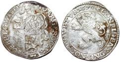 World Coins - Netherlands. West Friesland. AR Lion Daalder (48 Stuivers) 1670. Bold About VF.