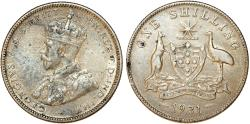 World Coins - British Commonwealth: Australia. George V. Silver Shilling 1931. Lightly Toned VF+