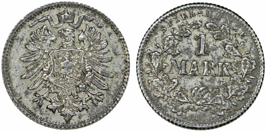 Germany Early Imperial Period Game Token Lchrlauers Spiel Munze