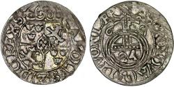 World Coins - Latvia. Riga. Swedish occupation. Karl XI (1660-1697). AR 1/24 Taler 1669. Choice VF, scarce