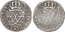 World Coins - Denmark. Frederick IV (1699-1730). Silver 12 Skilling 1720. Fine/aVF