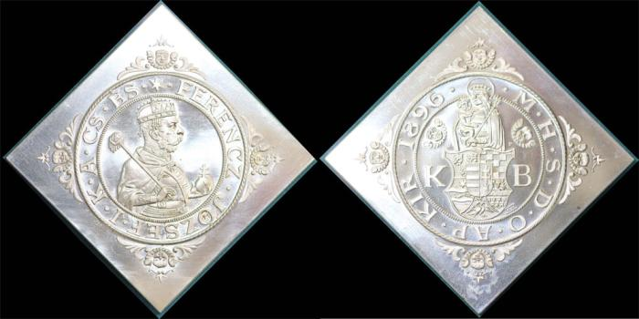World Coins - Austria-Hungary. Official Goverment Restrike of Klippe Taler 1896KB in Proof.