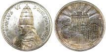 "World Coins - Vatican City. Pope Paul VI (1963-1975). AR Medal ""Vatican"" AN II (1975). UNC"