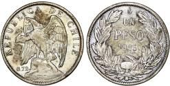 World Coins - Chile. Republic. Peso 1915. VF