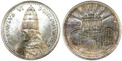 "World Coins - Vatican City. Pope Paul VI (1963-1975). AR Medal ""Vatican"" AN II (1975). UNC"