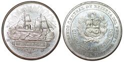 World Coins - Peru. Republic. Commemorative AR 5000 Soles 1979. Choice UNC