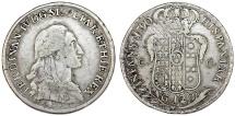 Italy. Naples & Sicily. Ferdinando IV (1759-1805) AR Piastra da 120 Grana 1790 P- AP. VF