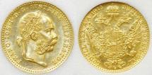 World Coins - Austria Gold 1 Ducat 1915. BU.