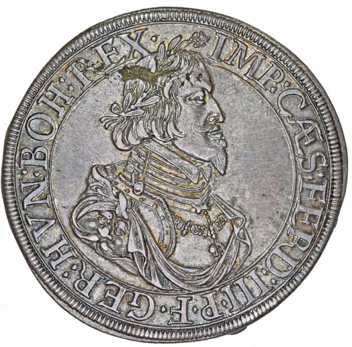 GERMANY: Augsburg  Emperor Ferdinand III (1637-1657) AR