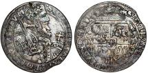 World Coins - Poland. Bromberg. Sigismund III Vasa (1587-1632). Silver 1/4 Thaler 1621. Toned about VF
