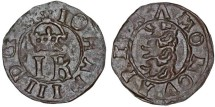 World Coins - The Livonian Order. Reval under Sweden. King John III (1568-1592). AR Schilling ND. VF