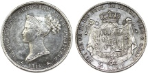 World Coins - Italian States: PARMA. Maria Luigia (1815-1847)  SIlver 2 Lire 1815. Toned XF, rare coin!