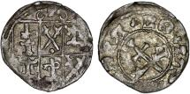 World Coins - East Baltic. Archbishops of Dorpat. Johann VI (1518-1527). Rare Silver Artig ND. aXF
