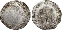 World Coins - England. king Charles I (1625-1649) AR Shilling ND ( 1627-1629). VF