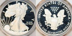 Us Coins - USA. Proof   Silver Eagle 2018-W. PCGS PR70 DCAM