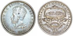 World Coins - British Commonwealth Australia. Commemorative Silver Florin 1927. Toned Choice XF.