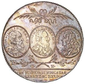 World Coins - SWEDEN. King Karl XIV Johan (1818–1844). AR Riksdaler 1821. Choice AU/UNC, toned.