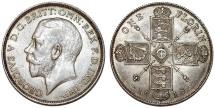World Coins - Great Britain. King Edward VII (1902-1910). AR Florin 1918. Nice Choice XF