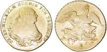 World Coins - Germany. Brandenburg-Prussia. Breslau. Friedrich Wilhelm II. (1786-1797 ). AV Friedrich D'or 1795 B. Fine+, RARE COIN!