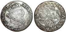 World Coins - Poland. Bromberg. Sigismund III (1587-1632). Silver 6 Groschen 1627. Fine+