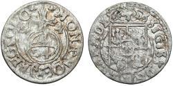 World Coins - Poland. Bromberg. Sigismund III (1587-1632). Silver Polker - 1/24 Taler 1624. Choice VF