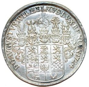 World Coins - Germany: Brunswick-Wolfenbuttel. Ludwig (1714-1735) Silver Taler 1724. Choice XF