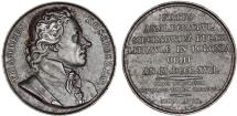 World Coins - Poland, Russain Occupation. Iron 41mm Medal 1818 issued to commemorate  T. Kosciuszko death. AU