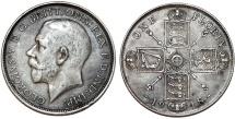 World Coins - Great Britain. King Edward VII (1902-1910). AR Florin 1918. Nice Choice VF