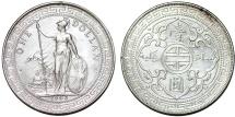 Great Britain. British India Mint. Queen Victoria (1837-1901). Britannia Trade Dollar 1903 B. Choice XF