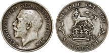 World Coins - Great Britain. King George V (1911-1935) Silver 6 Pence 1919. VF