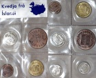 World Coins - Iceland. Mint set of 6 coins 1960's in Choice BU