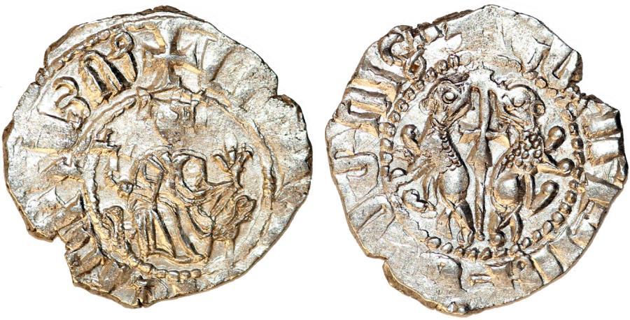 World Coins - ARMENIA. Levon I (1187-1219). AR Tram ND. Nice XF
