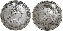 World Coins - Great Britain. George III (1760-1820). AR Dollar of 5 Shillings 1804 . VF