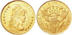 Us Coins - USA. Draped Bust Gold $5 1806. NGC AU55! - OLD SLAB