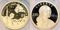 Us Coins - USA. Native American or Sacagawea Dollar 2019. PCGS PF70 DCAM!