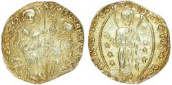 World Coins - Italy: Venice. Antonio Venier (1382-1400). Gold Zecchino ND. VF, scarce